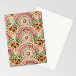 Radiant Sun Multicolored Boho Geometric Stationery Cards