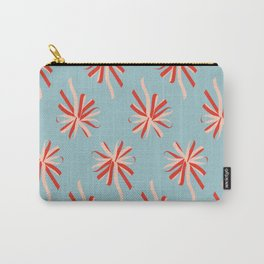 Red Swirl Carry-All Pouch