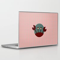 crab Laptop & iPad Skins featuring Crab by Mr & Mrs Quirynen