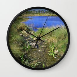 As the Heart Mends Wall Clock