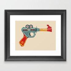 Gun Toy Framed Art Print