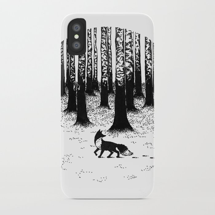 new product 58720 b5bf1 Snow Fox iPhone Case