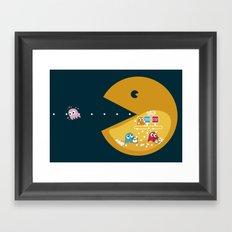 Indoor Games Framed Art Print
