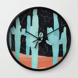 Coyote Dreams Wall Clock