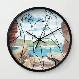 Wylie's Baths Wall Clock