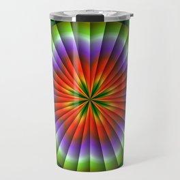 Pulsating Rainbow Wheel Travel Mug