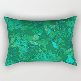 Giardino Emerald Rectangular Pillow