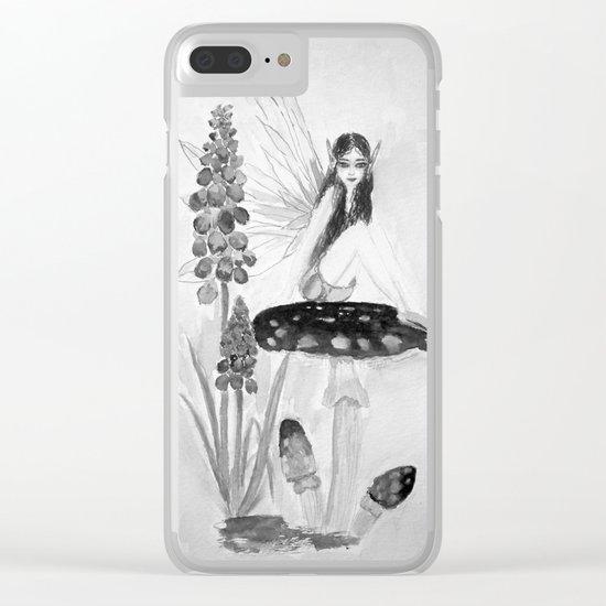 My childhood fantasy-Fairy Fairy Fairy Clear iPhone Case