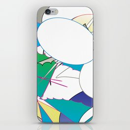 Color #4 iPhone Skin