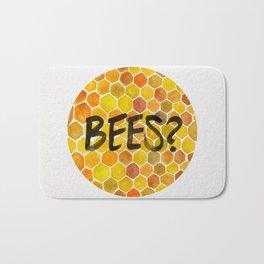 BEES? Bath Mat