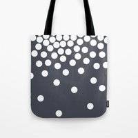 dot Tote Bags featuring Dot by londondewey