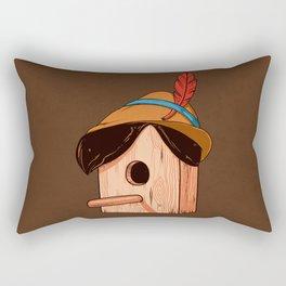 Woodpecker´s house Rectangular Pillow