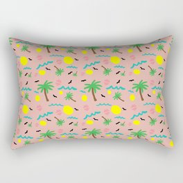 Beachy Keen Pattern Rectangular Pillow