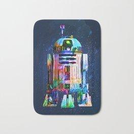R2D2 space droid from wars star Bath Mat