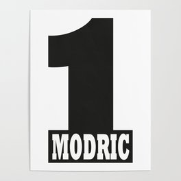 Luka Modric named number 1 of the world Poster