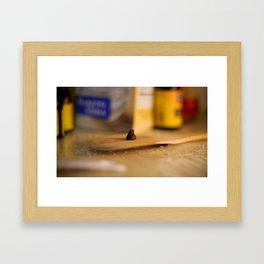 Elemental Baking - Chocolate Chip Framed Art Print