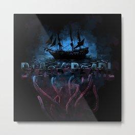 Black pearl Metal Print