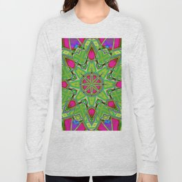 Abstract Flower AAA QQ B Long Sleeve T-shirt