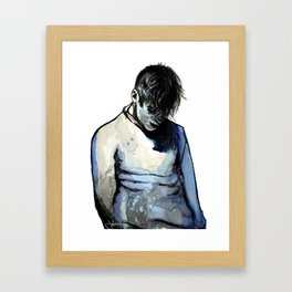 Blueboy Framed Art Print