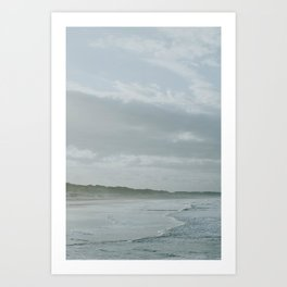 West Coast Foam Art Print