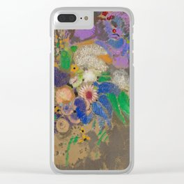 "Odilon Redon ""Portrait of Violett Heymann"" Clear iPhone Case"