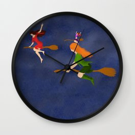 Charming Fliers Wall Clock