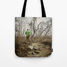Skateboard Stroll Tote Bag