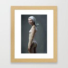 The Treserras girl Framed Art Print