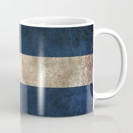 Old and Worn Distressed Vintage Flag of Colorado Coffee Mug