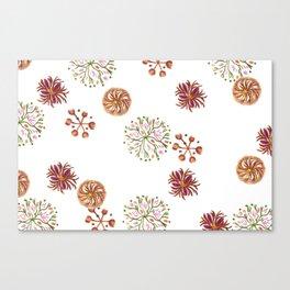 japanese signet pattern Canvas Print