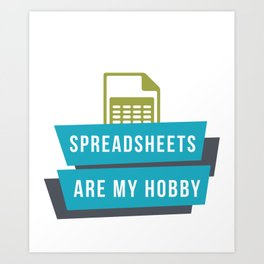 Accountant Graduate Bookkeeper Student Art Print