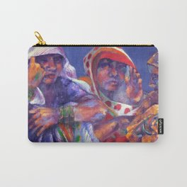 Three Cloth Sellers Carry-All Pouch