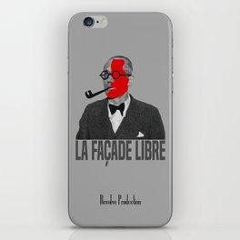 La Façade Libre iPhone Skin