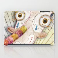 clown iPad Cases featuring Clown by José Luis Guerrero