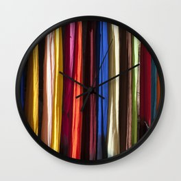 Cover me with Color Wall Clock