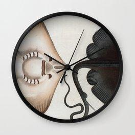 Vintage Stingray Illustration (1785) Wall Clock