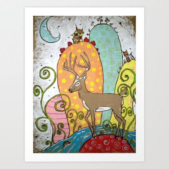 """OH! Deer"" Art Print"