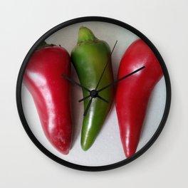 Chillies Wall Clock
