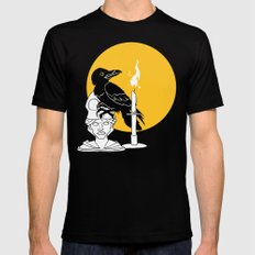 The Raven MEDIUM Mens Fitted Tee Black