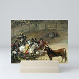 Francisco de Goya Bullfight, Suerte de Varas Mini Art Print