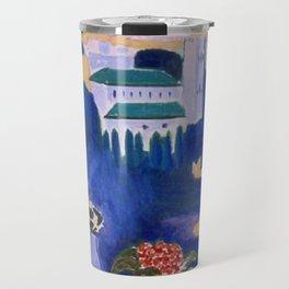 Henri Matisse - Window At Tangier 1912 Painting Travel Mug