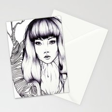 Tree Woman Stationery Cards