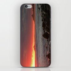 Red at night sailor's delight iPhone & iPod Skin