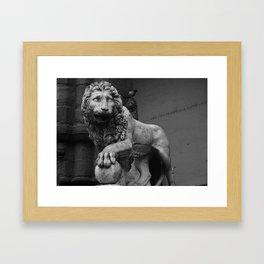 VACCA'S LION Framed Art Print