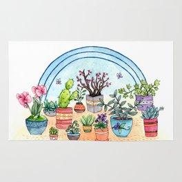 Household Plants Rug