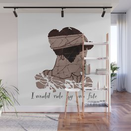 I Would Rule my Own Fate - Helen of Sparta Wall Mural