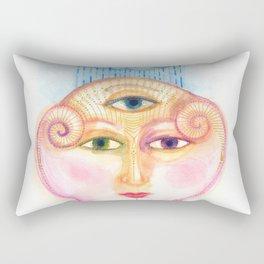 daemon of complicated times Rectangular Pillow