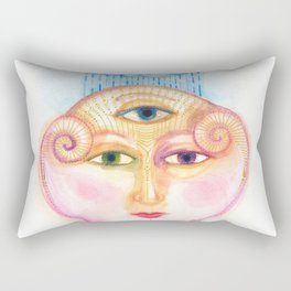 daemon of complicated times Rectangular Pillow