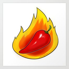 Spicy Art Print
