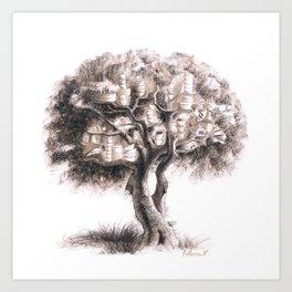 Tea tree Art Print